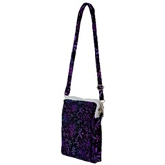 Retro Lilac Pattern Multi Function Travel Bag by WensdaiAddamns
