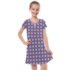 Grid Of Elegance  Kids  Cross Web Dress by TimelessFashion