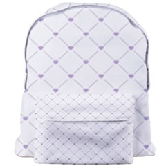 Heart Lines  Giant Full Print Backpack by TimelessFashion