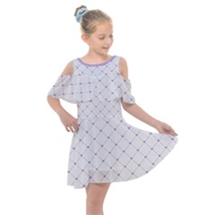 Heart Lines  Kids  Shoulder Cutout Chiffon Dress by TimelessFashion