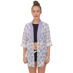 Just Leaves  Open Front Chiffon Kimono by TimelessFashion