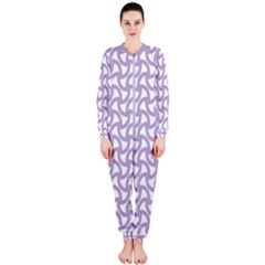 Odd Shaped Grid  Onepiece Jumpsuit (ladies)  by TimelessFashion