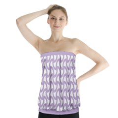 Odd Shaped Grid  Strapless Top by TimelessFashion