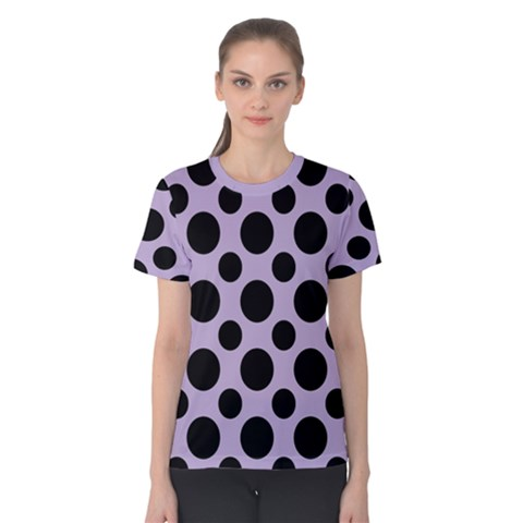 Polka Dots (large) Women s Cotton Tee by TimelessFashion