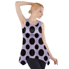 Polka Dots (large) Side Drop Tank Tunic by TimelessFashion