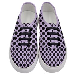 Polka Dots (medium) Women s Classic Low Top Sneakers