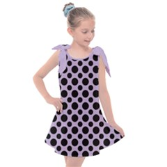 Polka Dots (medium) Kids  Tie Up Tunic Dress by TimelessFashion