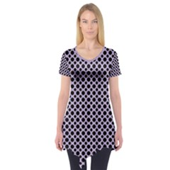 Polka Dots (small) Short Sleeve Tunic  by TimelessFashion