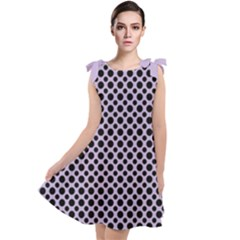 Polka Dots (small) Tie Up Tunic Dress by TimelessFashion