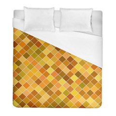 Square Pattern Diagonal Duvet Cover (full/ Double Size) by Mariart
