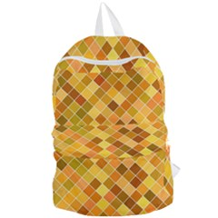 Square Pattern Diagonal Foldable Lightweight Backpack by Mariart