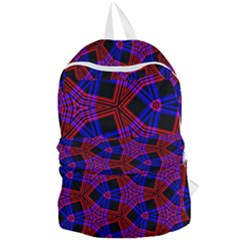 Pattern Line Foldable Lightweight Backpack by Mariart