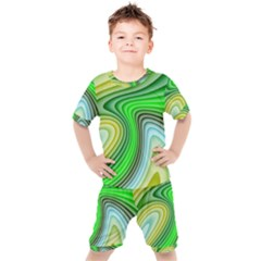 Wave Lines Pattern Abstract Kid s Set