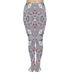 Triangle Pattern Kaleidoscope Tights by AnjaniArt