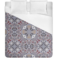 Triangle Pattern Kaleidoscope Duvet Cover (california King Size)