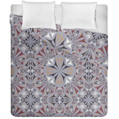 Triangle Pattern Kaleidoscope Duvet Cover Double Side (california King Size)
