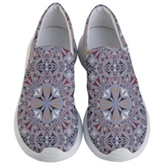 Triangle Pattern Kaleidoscope Women s Lightweight Slip Ons by AnjaniArt