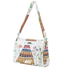 Triangle Tent Front Pocket Crossbody Bag
