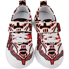 Visual Arts Skull Kids  Velcro Strap Shoes