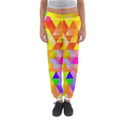 Watercolor Paint Blend Women s Jogger Sweatpants by Alisyart