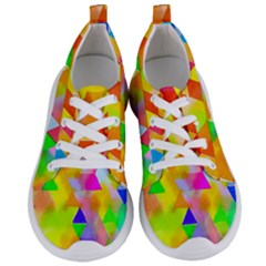 Watercolor Paint Blend Women s Lightweight Sports Shoes