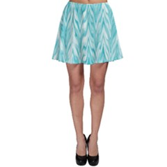 Zigzag Backdrop Pattern Skater Skirt