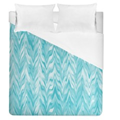Zigzag Backdrop Pattern Duvet Cover (queen Size)