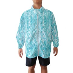 Zigzag Backdrop Pattern Windbreaker (kids)