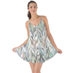 Zigzag Backdrop Pattern Grey Love The Sun Cover Up