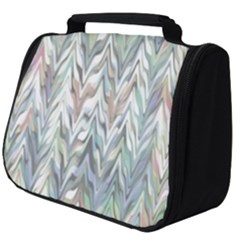 Zigzag Backdrop Pattern Grey Full Print Travel Pouch (big)