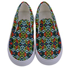 Ml 7 2 Kids  Canvas Slip Ons