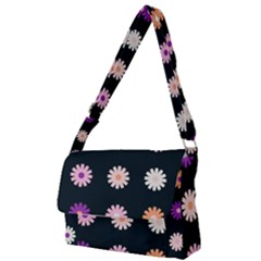 Flower Background Wallpaper Modern Full Print Messenger Bag