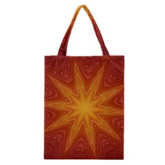 Fractal Wallpaper Colorful Abstract Classic Tote Bag