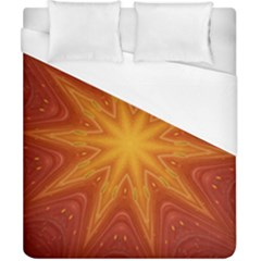Fractal Wallpaper Colorful Abstract Duvet Cover (california King Size) by Mariart