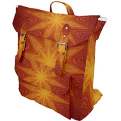 Fractal Wallpaper Colorful Abstract Buckle Up Backpack