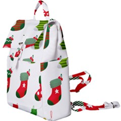 Christmas Stocking Candle Buckle Everyday Backpack