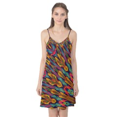 Background Abstract Texture Camis Nightgown