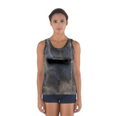 Marble Surface Texture Stone Sport Tank Top