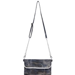 Marble Surface Texture Stone Mini Crossbody Handbag by Jojostore