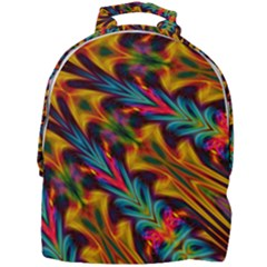 Background Abstract Texture Rainbow Light Mini Full Print Backpack