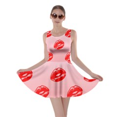 Love Shape Romance Abstract Skater Dress