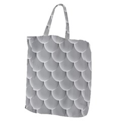 Scallop Fish Scales Scalloped Giant Grocery Tote