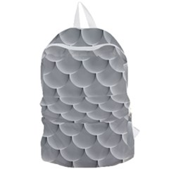 Scallop Fish Scales Scalloped Foldable Lightweight Backpack