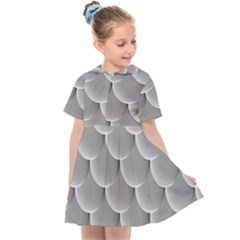 Scallop Fish Scales Scalloped Kids  Sailor Dress by Jojostore