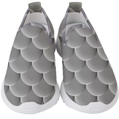Scallop Fish Scales Scalloped Kids  Slip On Sneakers by Jojostore