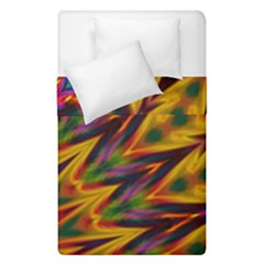 Background Abstract Texture Chevron Duvet Cover Double Side (single Size)
