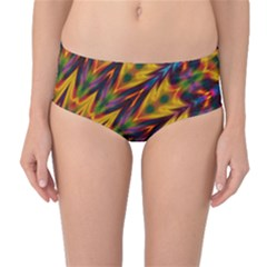 Background Abstract Texture Chevron Mid Waist Bikini Bottoms by Mariart