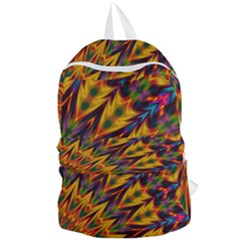 Background Abstract Texture Chevron Foldable Lightweight Backpack by Mariart