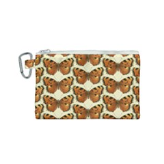 Butterflies Insects Canvas Cosmetic Bag (small)