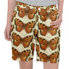 Butterflies Insects Pocket Shorts